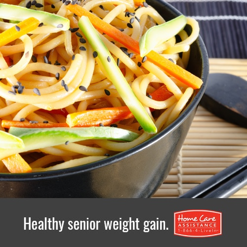 Healthy Weight Gain Tips for Seniors