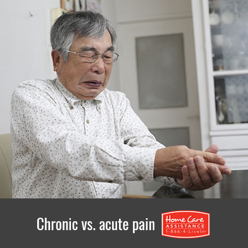 The Difference Between Chronic and Acute Pain