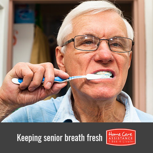 How to Freshen Up Your Senior Loved One's Breath in Harrisburg, PA