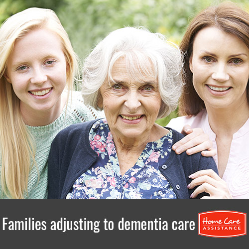 How Families Can Adjust to Dementia Care for a Senior Loved One in Harrisburg, PA
