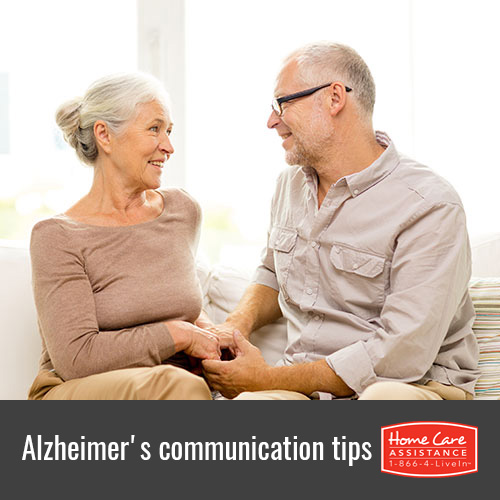 Communicate with Your Senior Loved One with Alzheimer's with these Tips