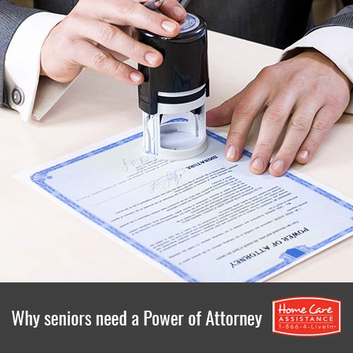 Why Your Senior Loved One Should Have a Power of Attorney in Harrisburg, PA